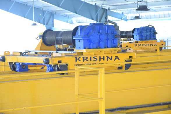 Wheel Load Design Calculation Of Jib Double Girder Eot Crane Manufactures In India