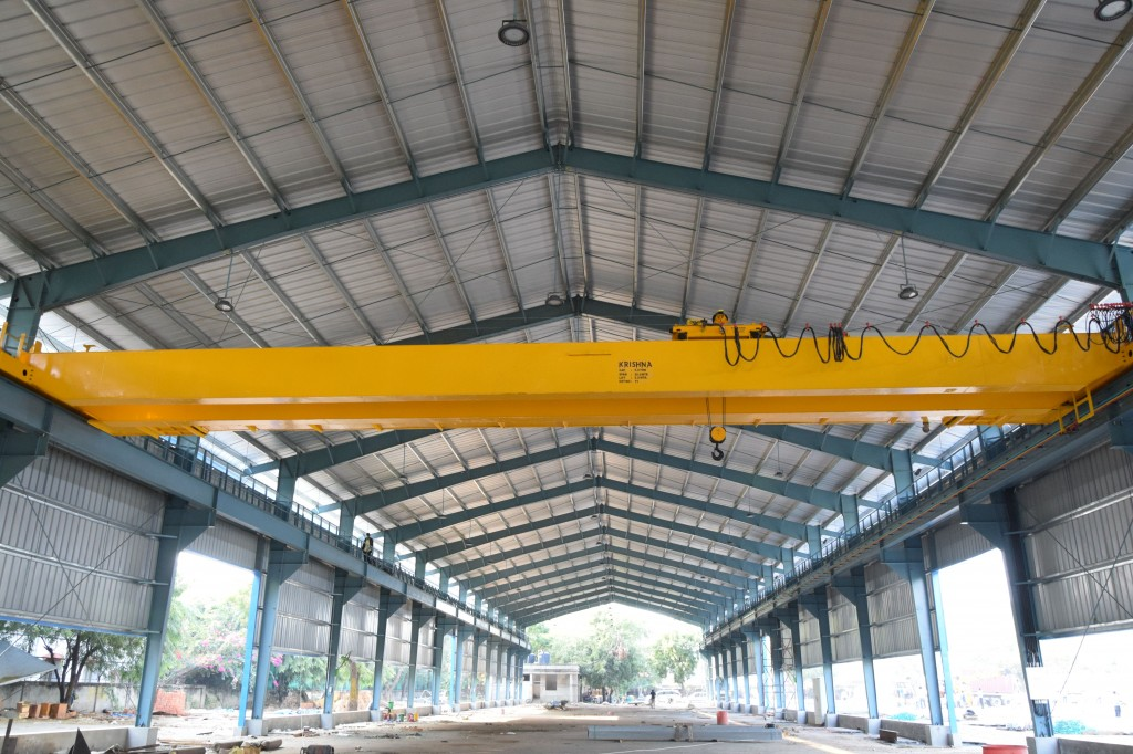 Eot crane which is manufactured in Ahmedabad