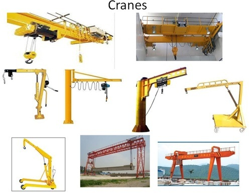 Different Types Of Cranes