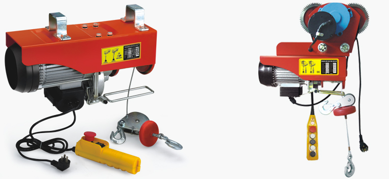 SINGLE PHASE MINI ELECTRIC HOIST