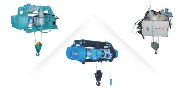 Wire ropes hoists
