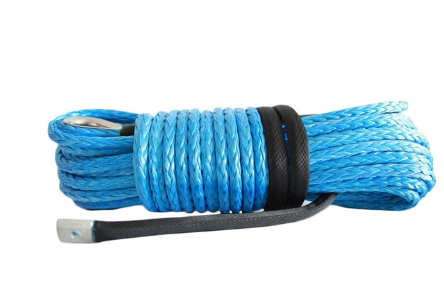 Free-Shipping-Blue-12mm30m-Synthetic-Winch-RopeRope-for-Electric-WinchesBoat-Winch-Rope-Extension-bbt0